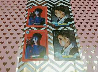 [WTS]EXO XIUMIN MATCHING CARD SET