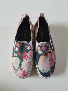 H&M Floral Slip-Ons