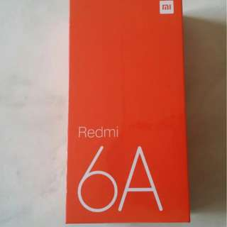 Xiaomi Redmi 6A 16GB brand new sealed Grey