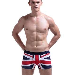 [Used] H&M UK flag 🇬🇧 men's underwear - Trunk