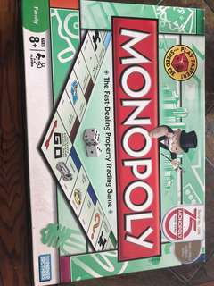 Monopoly Board Game (limited edition)