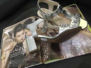 CLARKS Deva Daisy Ankle Strap Sandals