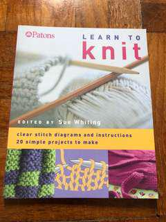 🚚 Learn to knit