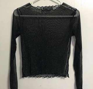 BRANDY MELVILLE mesh top