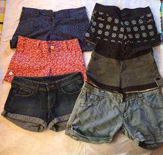 Assorted shorts!
