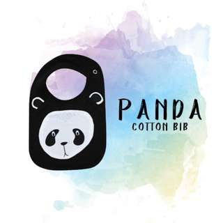 Panda - Cotton Bib
