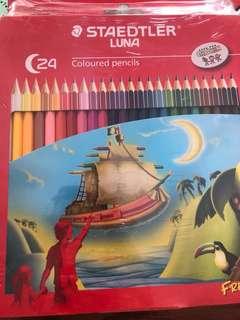 New STAEDTLER 24 pack Color pencils
