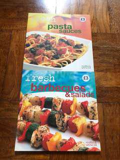 🚚 Clearance - Recipes for pasta sauce, barbecues and salads