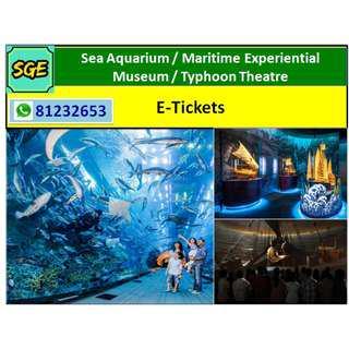 SEA Aquarium / Maritime Experiential Museum / Typhoon Theatre