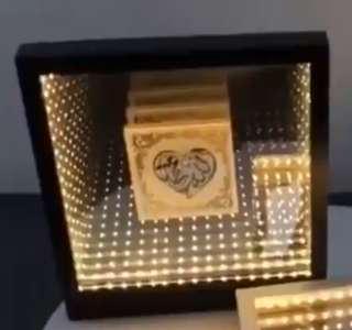 3D Infinity Mirror Frame