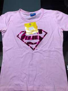 Superman Hot pink shirt