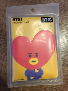 Authetic BTS BT21 Tata Passport Case
