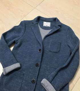 Zara 針織西裝外套