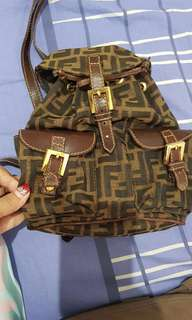 Fendi Small Backpack Vintagw