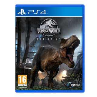 🚚 Jurassic World Evolution (PS4) R2