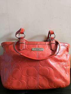Coach shoulder large bag