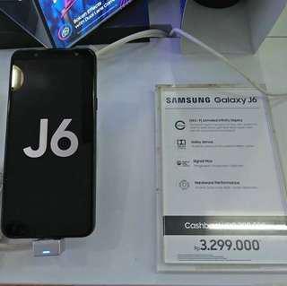 Samsung Galaxy J6 kredit Proses 3 Menit