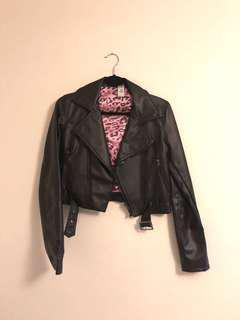 Pleather Moro Jacket