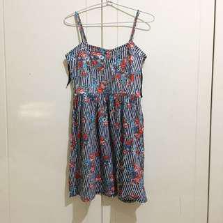 ZARA Trafaluc Floral Dress