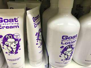 Goat lotion