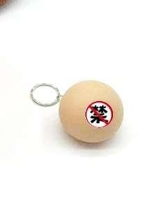 5cm 減壓發泄玩具咪咪球 鎖匙扣 仿真硅膠水球