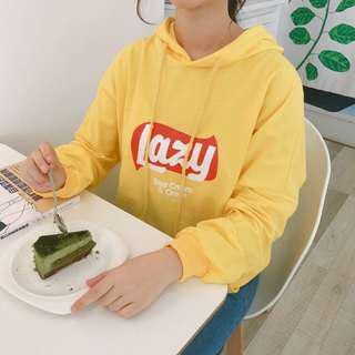 Instock | Lays Chips Hoodie Yellow