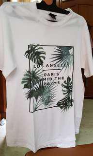 T shirt pantai H&M