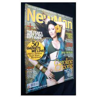 NewMan #40 (December 2005) Magazine (Caroline Cheong)