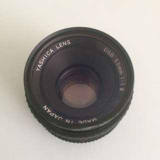 50mm f1.9 Yashica lens
