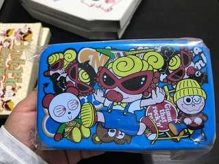 Hysteric 日本制食物盒,內附筷子一對
