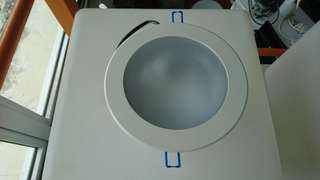 12w LED recessed downlight, 3000k, glass diffuser - sale