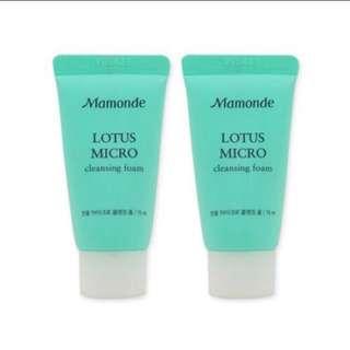 🚚 Mamonde Lotus Micro 蓮花洗面乳 Cleansing Foam