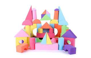 EVA toy building blocks