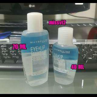 Maybelline Eye + Lip Make Up Remover 40 ML