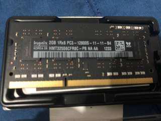 2GB Ram from my Mac Mina
