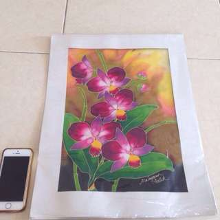 Original Terengganu Batik Poster [FREE POST]