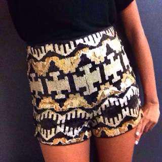 H&M Sequin Shorts (inc Postage)