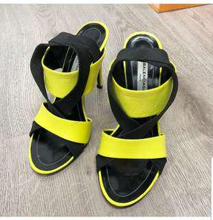 Balenciaga Elastic Criss Cross Sandals