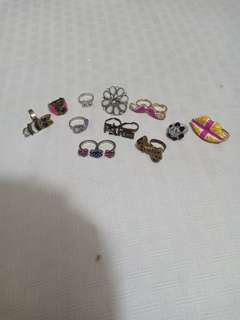 Assorted rings 120 for all