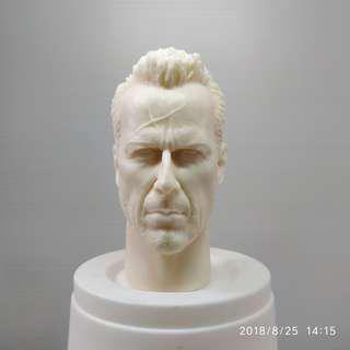 1/6 BRUCE WILLIS head sculpt SIN CITY