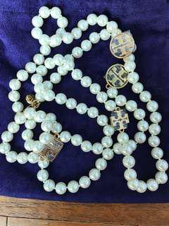 *New*Authentic Tory Burch Pearl Necklace