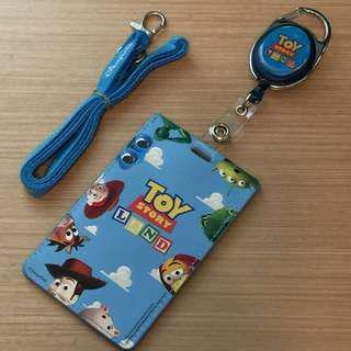 【全新】HK Disneyland Toy Story Badge Holder