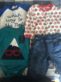 Baby Boy Winter Clothes 6-12m bundle