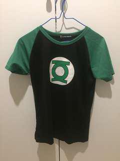 Green lantern sports tshirt