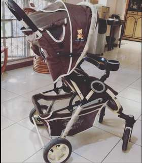EUC Disney foldable stroller, for newborn and up