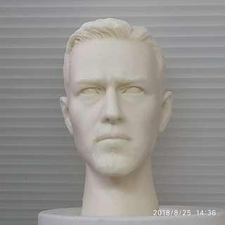 1/6 Edward Norton Head Sculpt UNPAINTED