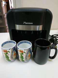 Bestron Coffee maker 沖咖啡 85%new