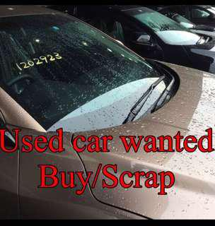 Buy/Scrap/Export Cars