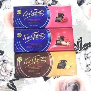 Fazer Chocolate Bars