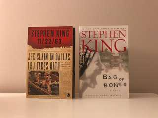 Stephen King Books $10 each